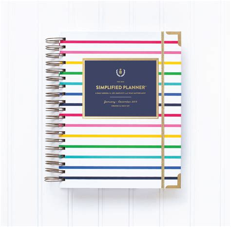 planner com simplified planner by emily ley someday morning