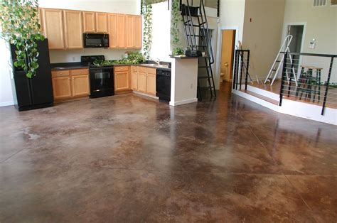 How To Finish Concrete Floors Interior by Majestic Refaced Concrete Home