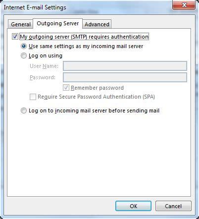 mail server port outlook 2013 knowledgebase ehost web services