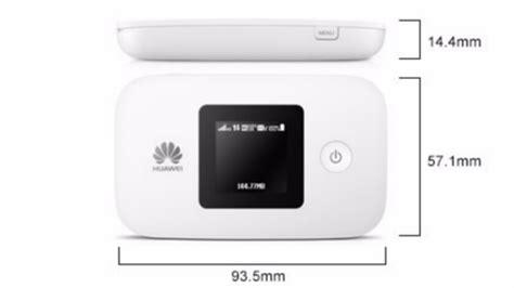 Wifi Portable Simpati huawei mifi e5577 modem black tokopda