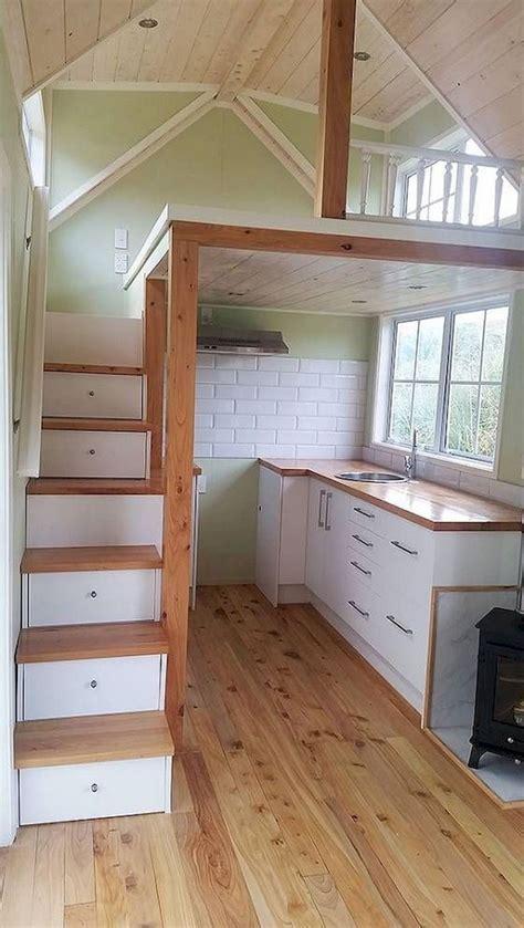 stunning loft stair  tiny house ideas design