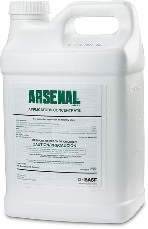 arsenal herbicide arsenal ac applicatiors concentrate herbicide basf
