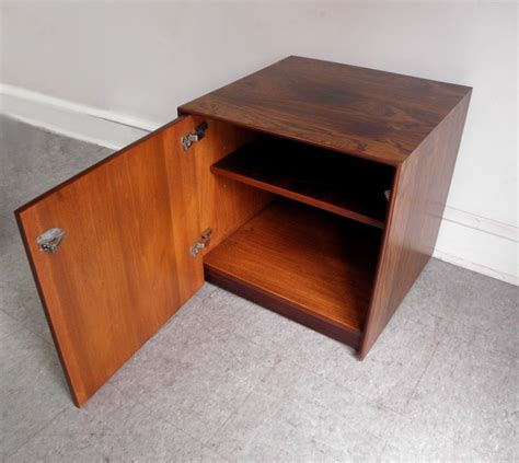 mid century modern accent table mid century modern storage cube end table open modern