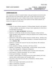 User Acceptance Tester Sle Resume cover letter graduate exles resume cover letter for architectural designers loss