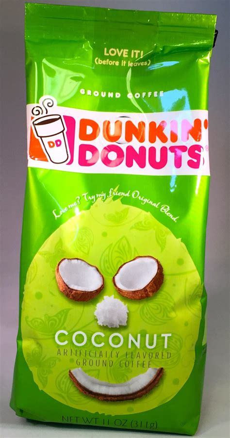 Free Product Sles Flavor Your Coffee by Dunkin Donuts Coconut Flavored Coffee 11oz Free Shipping