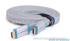1 5m H450hdf Vention Kabel High Speed Flat Metal Br Laris high speed hdmi cable suppliers lan cable offered by