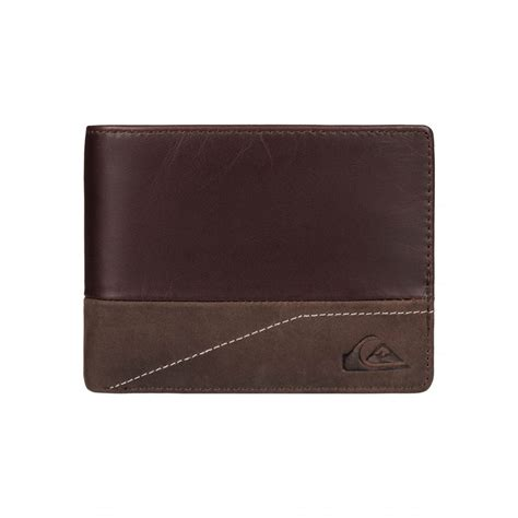 Quiksilver Leather 4 Mens New Classical Ii Leather Wallet Eqyaa03390 Quiksilver