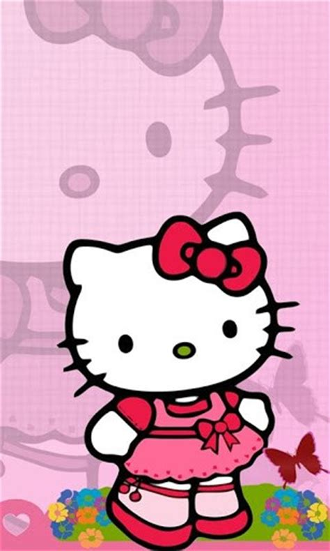 wallpaper hello kitty pink android download hello kitty pink wallpapers for android by vanex