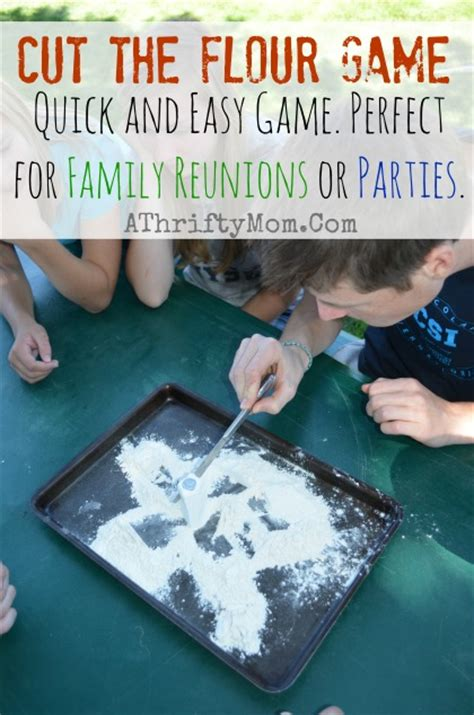 haircut cutting games cut the flour game easy games for a family reunion or