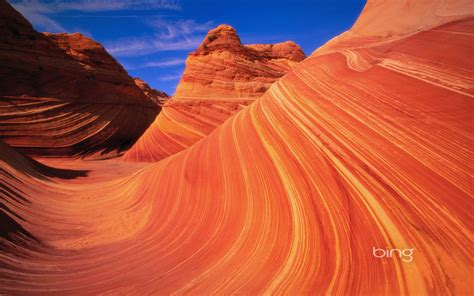 wave  sandstone formation   coyote buttes