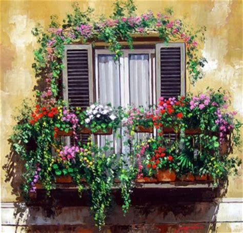 balcone fiorito iniziative un balcone fiorito per colorare il molise