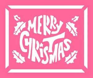free christmas stencils advent craft ideas for children