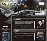 Dj Disc Jockey Dee Jay Website Templates Disc Jockey Website Templates