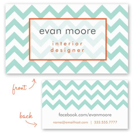 Multicolor Chevron Bussiness Card Template by New Chevron Business Card Templates Charming Ink