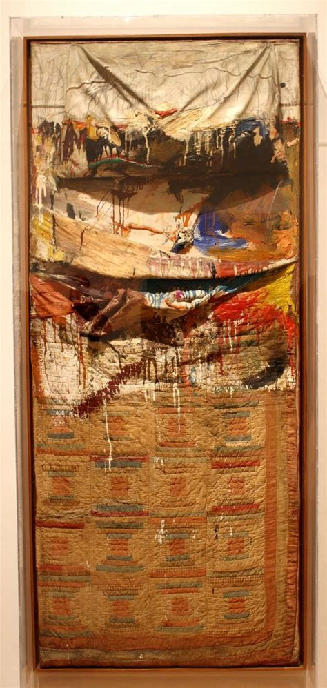 rauschenberg bed robert rauschenberg bed 1955 using a bed as his canvas