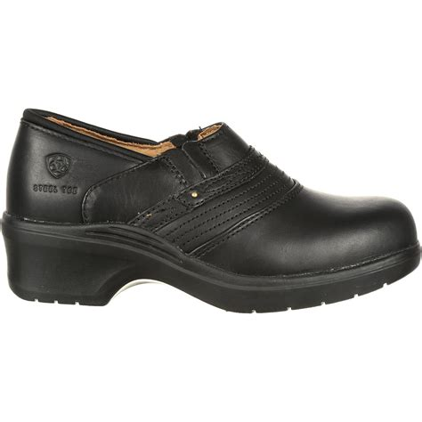 steel toe clogs for ariat s steel toe safety clog work shoe 10002368
