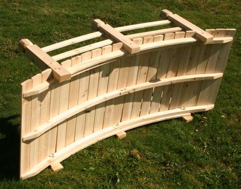 how to make a wooden bridge 26 awesome garden bridges plans pixelmari com