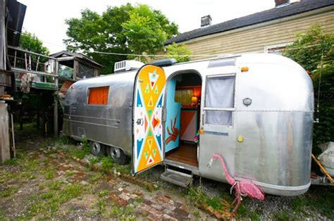 Sca Deco Et Jardin by Caravane Am 233 Ricaine Airstream 224 La D 233 Co Multicolore