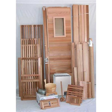 6 x10 sauna kit diy precut heater package