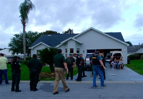 County Sheriff Warrant Search Deputies Raid Problem Home In The Villages Villages News