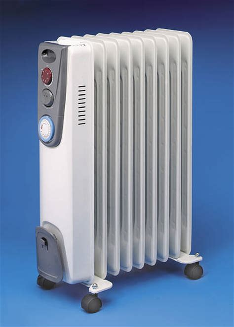 Electric Radiators 2kw Filled Electric Radiator Timer