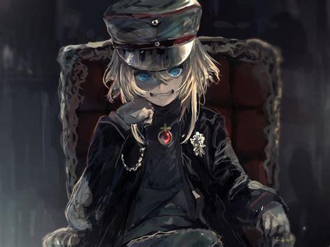 desktop wallpaper anime art aime girl tanya degurechaff
