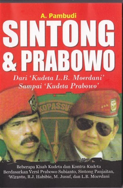 show me a picture book of sintong prabowo by a pambudi reviews discussion