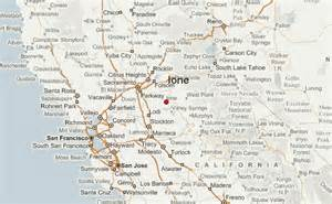 ione california map ione location guide