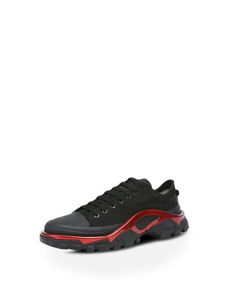 raf simons detroit runner sneakers in black adidas y 3
