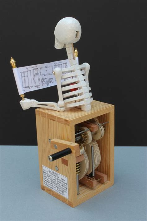 thesecret automata mechanical sculpture collectible