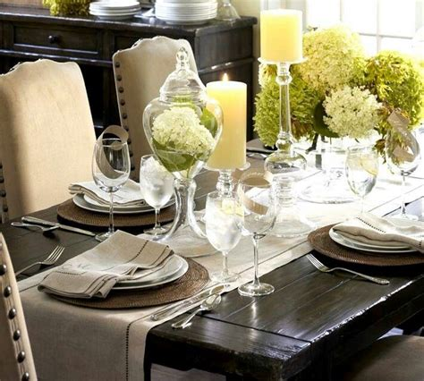 Lunch Table Setting Informal Lunch Table Setting Mesas De Pinterest