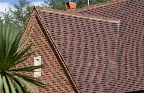 Hawkins Clay Plain Roofing Tiles Tegral