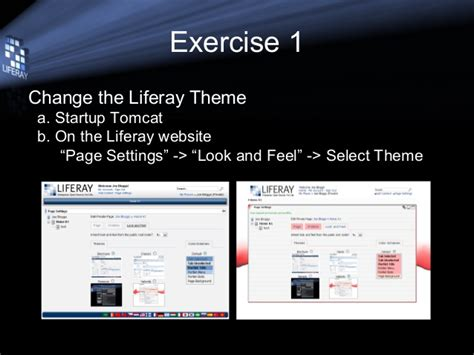 liferay themes exles themes and layouts