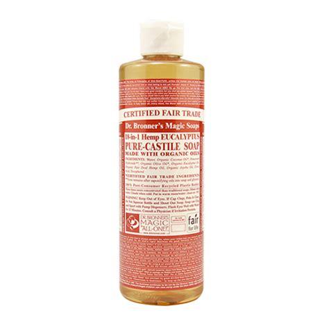 Murah Dr Bronner S Castile Liquid Soap Eucalyptus 473 Ml dr bronner s 18 in 1 organic eucalyptus castile liquid soap 237ml uk supplier