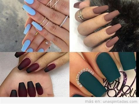 imagenes de uñas pintadas en gris u 241 as mate de barios colores arte de u 241 as