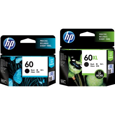 Hp 60 Ink Cartridge Black Cc640wa hp ink cartridge 60 cc640wa 60xl cc641wa black 天下文儀
