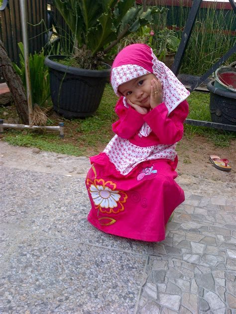 tutorial hijab anak kecil foto anak kecil lucu pakai hijab terlengkap display