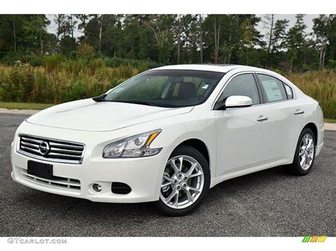 new nissan maxima white pearl white 2013 nissan maxima 3 5 sv exterior photo