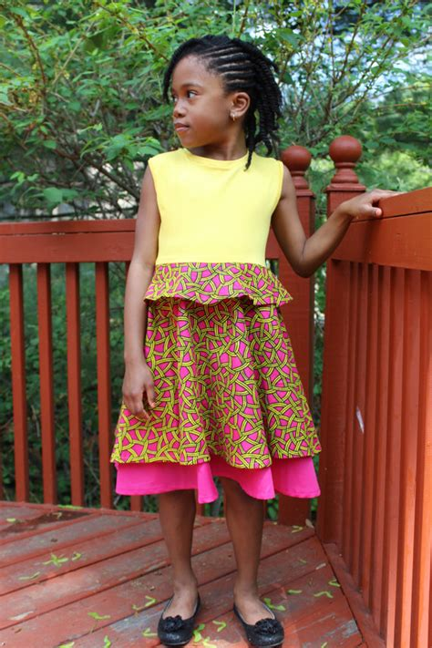 Simple Ankara Dress Style