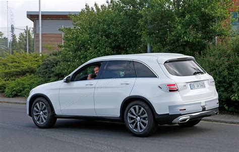 Mercedes In by Mercedes Glc New Glk Successor Spied With Minimal