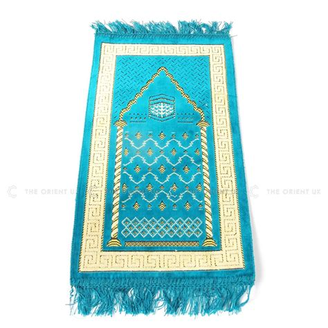 Islamic Prayer Mat by Turkish Children Prayer Mat Turquoise Islamic Pray