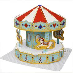How To Make A Carousel Out Of Paper - carousels spin and things on