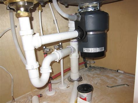 Plumbing A Kitchen Sink With Disposal petty home can i now how bout now