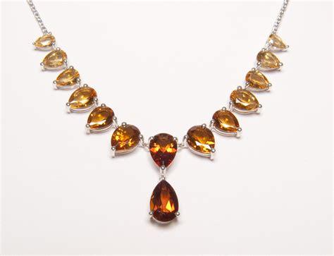 qvc jewelry citrine necklace newsdesk