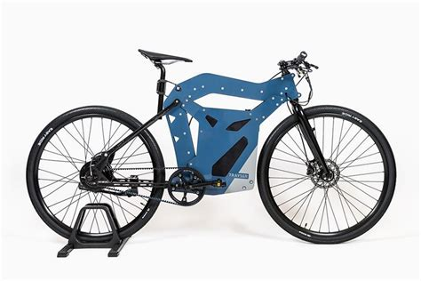 designboom e bike trayser electric bicycle utilizes modular frame for