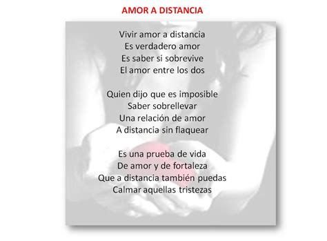 imagenes y poemas de amor a distancia el amor a distancia el unico sentimiento