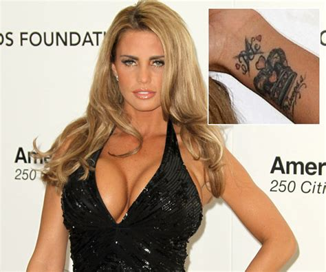 katie price wrist heart tattoo price the tattoos zimbio