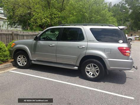 2003 Toyota Sequoia 2003 Toyota Sequoia Limited Sport Utility 4 Door 4 7l