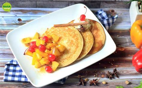 resep membuat pancake buah pancake stup buah rempah rasasayange co id