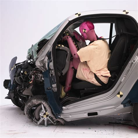 smart car crash iihs tests small cars in crash tests
